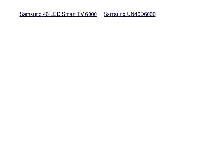 Samsung Un46d6000s border=
