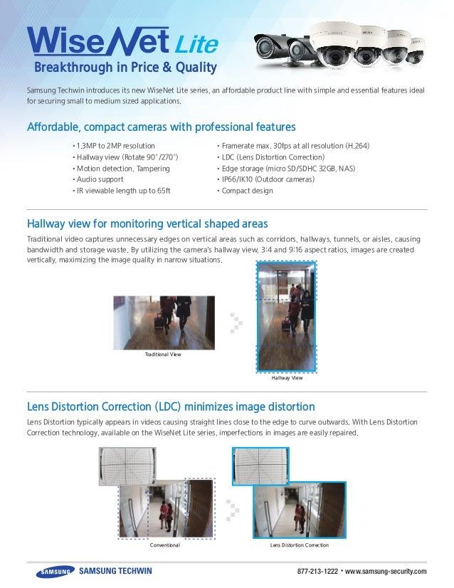 Lens Distortion Correction Online