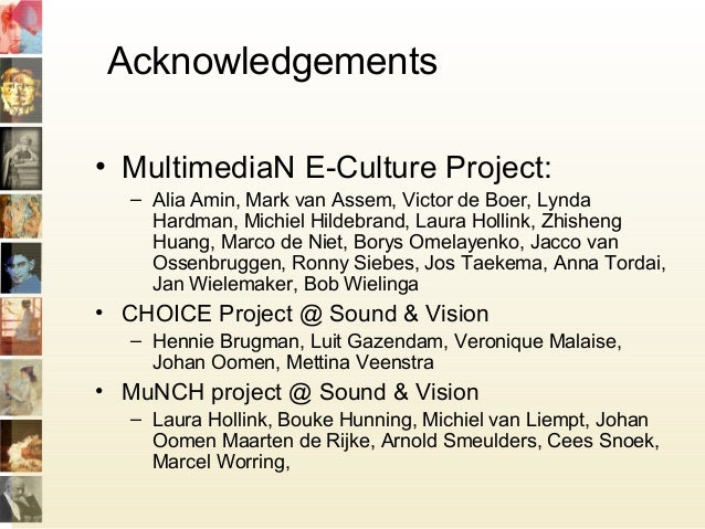 Ontologies for multimedia: the Semantic Culture Web Slide 3