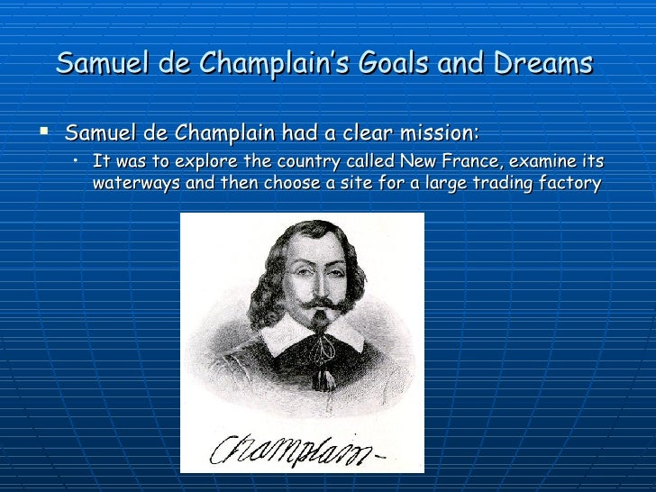 what country did samuel de champlain sail for
