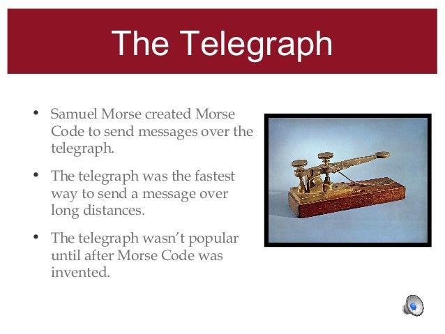 how to send a telegraph