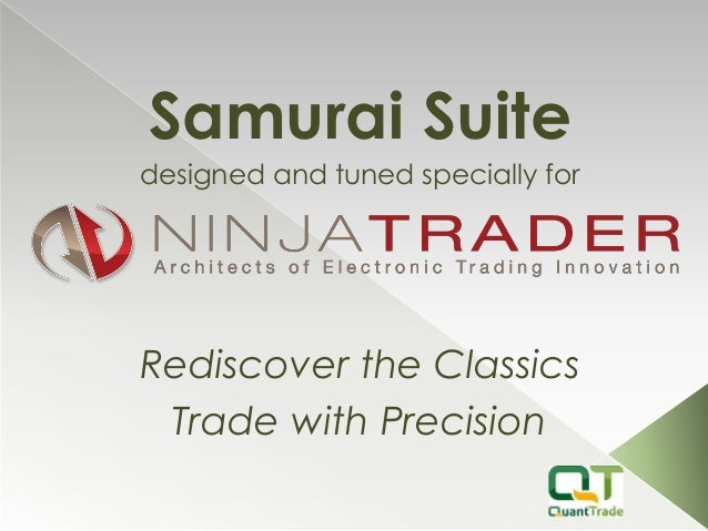 Samurai Suite designed and tuned specially for Rediscover the Classics Trade with Precision