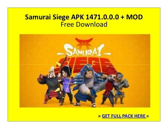 Samurai Siege 1471 0 0 0 Apk + Mod Free Download
