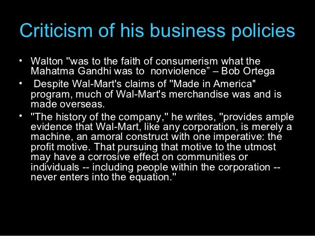wal marts effect on america The wal-mart effect was among several books documenting and analyzing the economic effects of walmart on local economies: others have included the local economic impact of walmart by economist michael j hicks, and walmart: the face of twenty-first-century capitalism by american labor historian nelson lichtenstein.