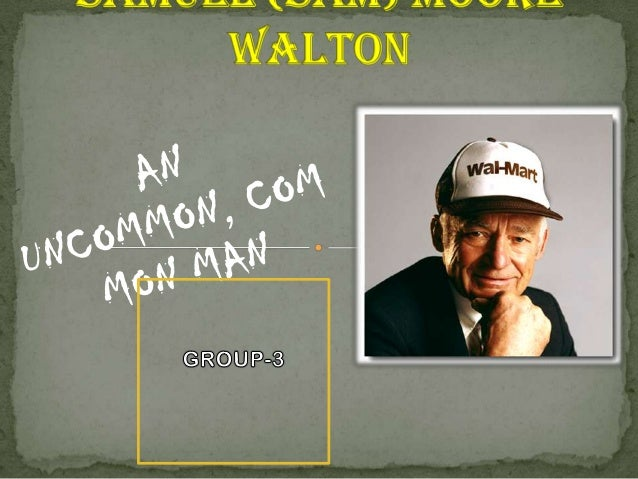 In 1945, after leaving the military, Walton took  over management of his first variety store at the age of 26. With the he...