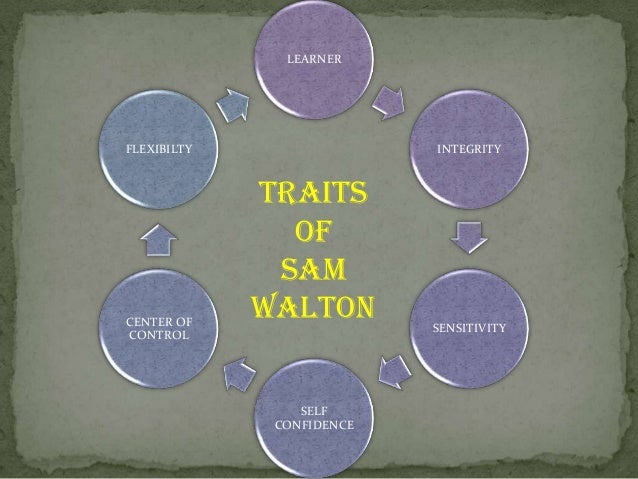 sam walton a transactional leader Autocratic leadership is an extreme form of transactional leadership, where leader has absolute power over his or her employees or team sam walton, former ceo of wal-mart 3 jack welch, former ceo of general electric 4.