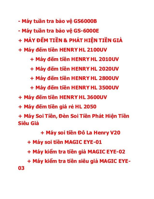 - Máy tuần tra bảo vệ GS6000B - Máy tuần tra bảo vệ GS-6000E + MÁY ĐẾM TIỀN & PHÁT HIỆN TIỀN GIẢ + Máy đếm tiền HENRY HL 2...