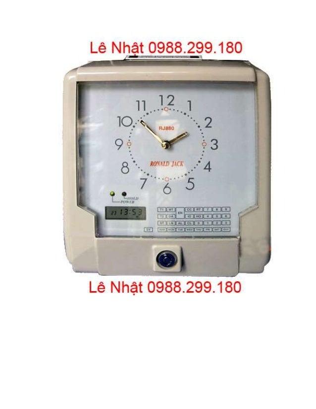 Sửa Máy Chấm Công Bảo Vệ GS-6000C Giá Rẻ Nhất TP.Bình Dương Slide 3