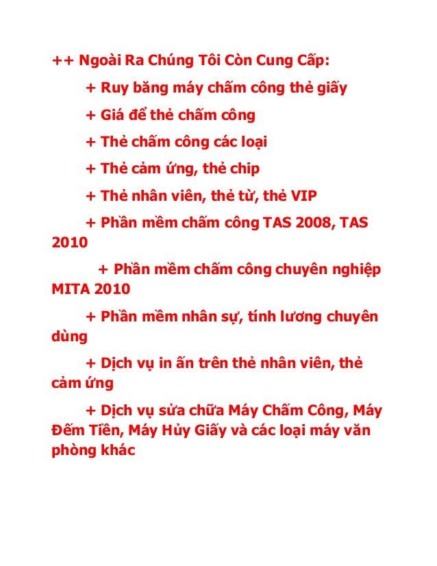 Sửa Lỗi Phần Mềm Chấm Công Mitaco 5v2 Tận Nơi ở TP.HCM......