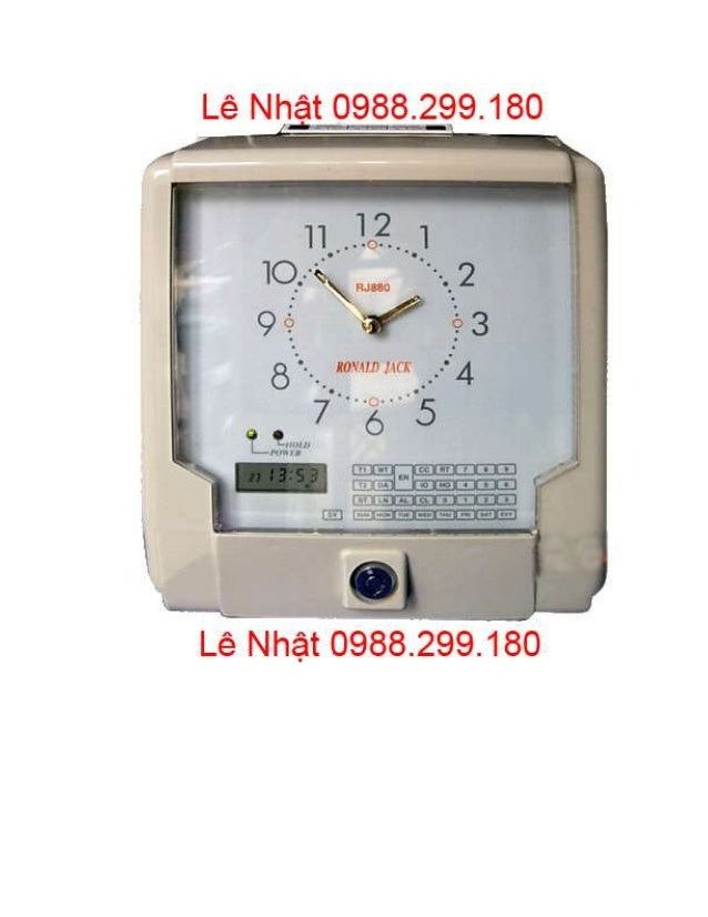 Thay Muc May Cham Cong The Giay Wise Eye WSE-7500A ở Gò Vấp Slide 3