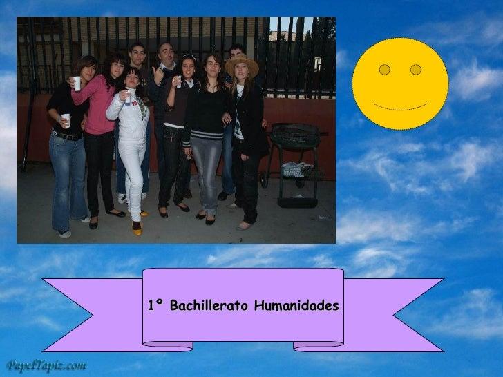 1º Bachillerato Humanidades