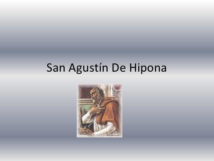 San Agustín De Hipona<br />