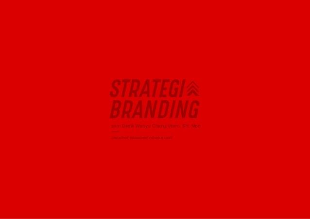 Strategi Branding Sanan