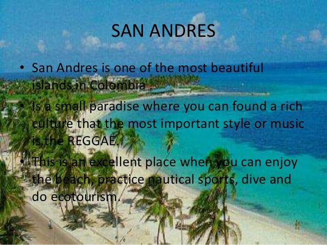 san andres single personals An expat in san-andres-island, colombia talks about relationships in san-andres-island are you single, dating, in a long-term relationship, married or divorced.