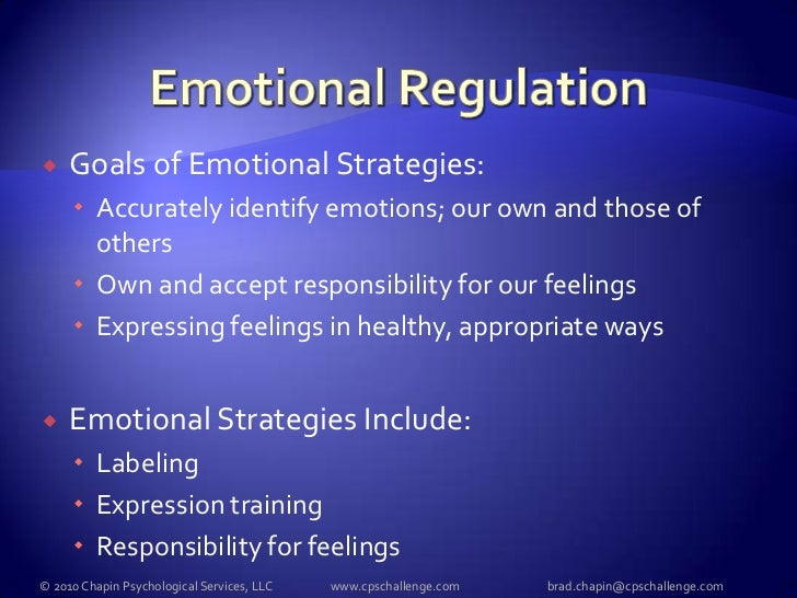 Selfregulation Strategies for Schoolage Children – Emotional Regulation Worksheets