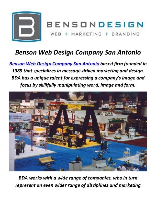 Benson Web Designers Company In San Antonio Tx