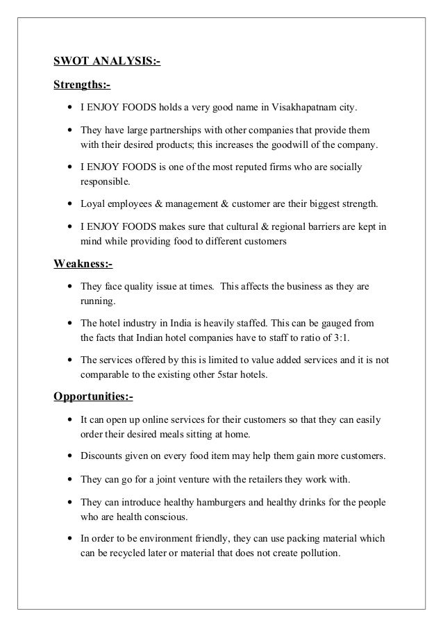essay about marketing mix for restaurant