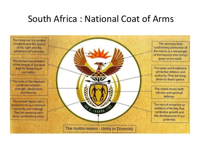 South Africa National Emblems