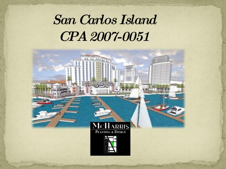 San Carlos Island  CPA 2007-0051