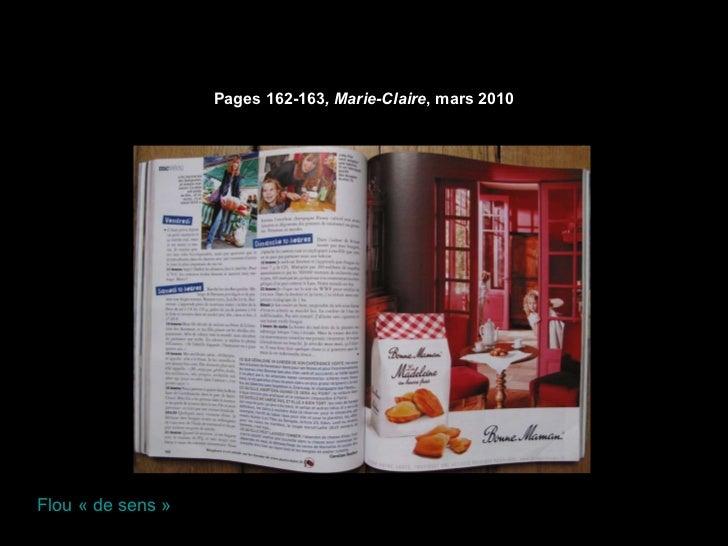 Pages 162-163 , Marie-Claire , mars 2010 Flou «de sens»