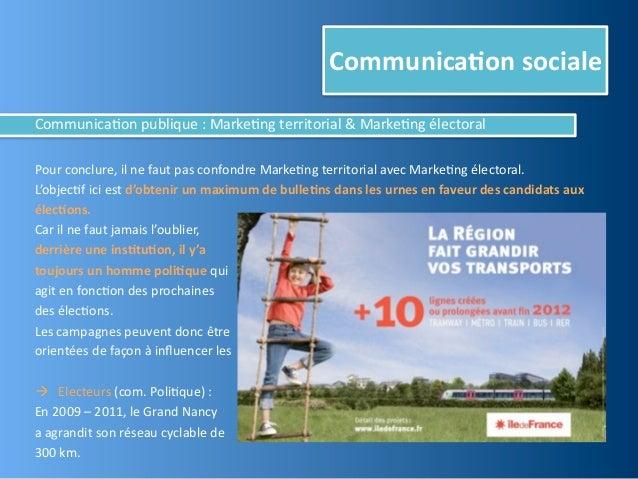 Communica,on socialeCommunica@on publique : Annonceurs et ciblesIL NE FAUT JAMAIS OUBLIER QUE DERR...