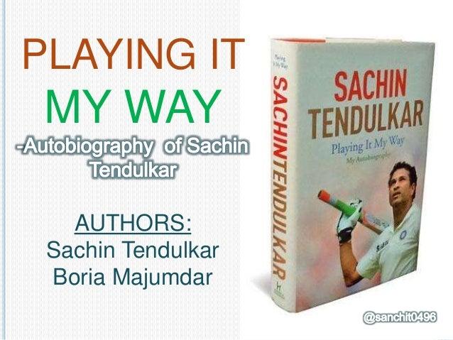 Sachin Tendulkar Autobiography Playing It My Way Pdf