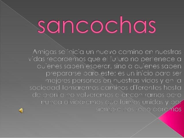 Sancochas