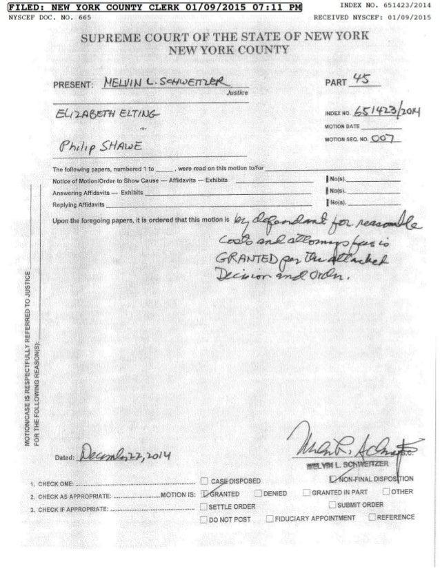 Corruption and Sanctions at Kramer Levin