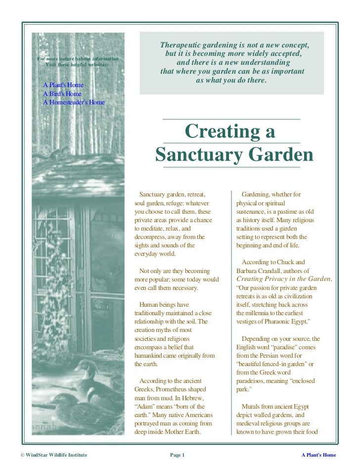 Therapeutic gardening is not a new concept,                                                         but it is becoming mor...
