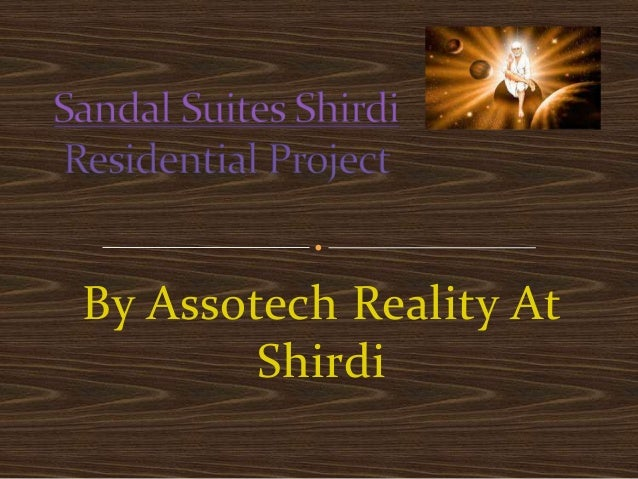 By Assotech Reality At        Shirdi