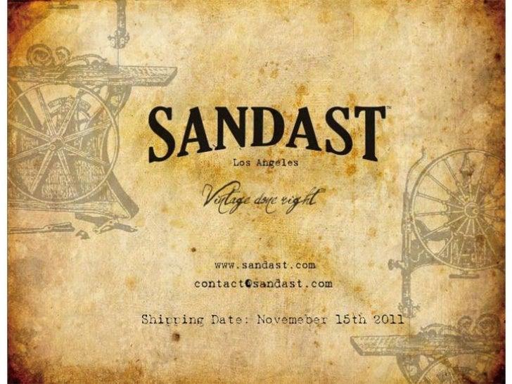 Sandastカタログ