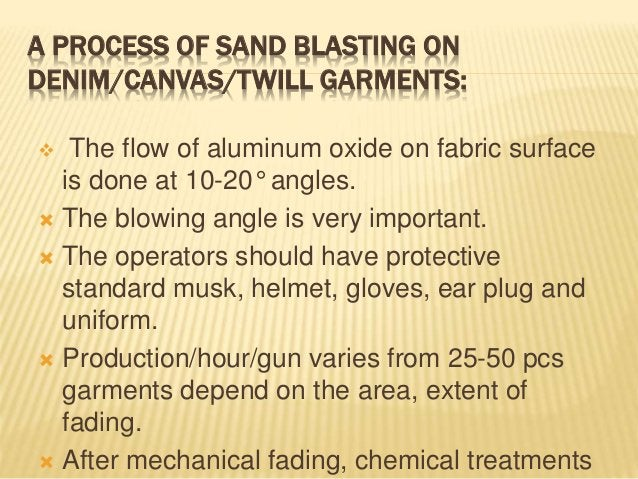 1.Sand Blasting: Sand blasting technique is based on blasting an abrasive material (Most of time sand) in granular, powder...