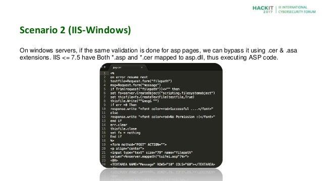 15 Technique to Exploit File Upload Pages