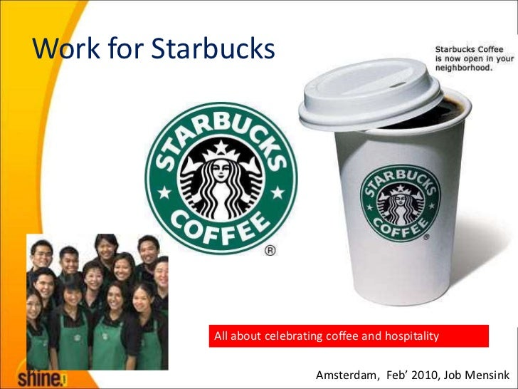External communication of starbucks