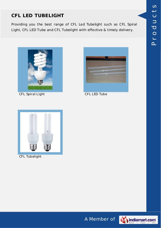 Cfl Light Raw Material By Sandeep Group Of Industries