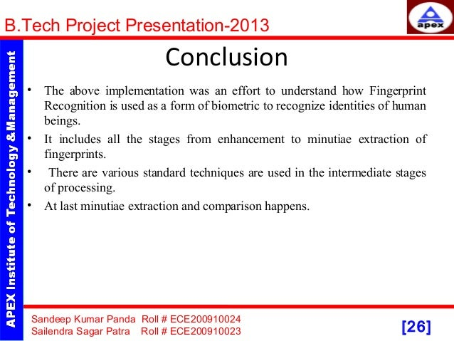 Ppt fingerprint recognition powerpoint presentation id:2022638.