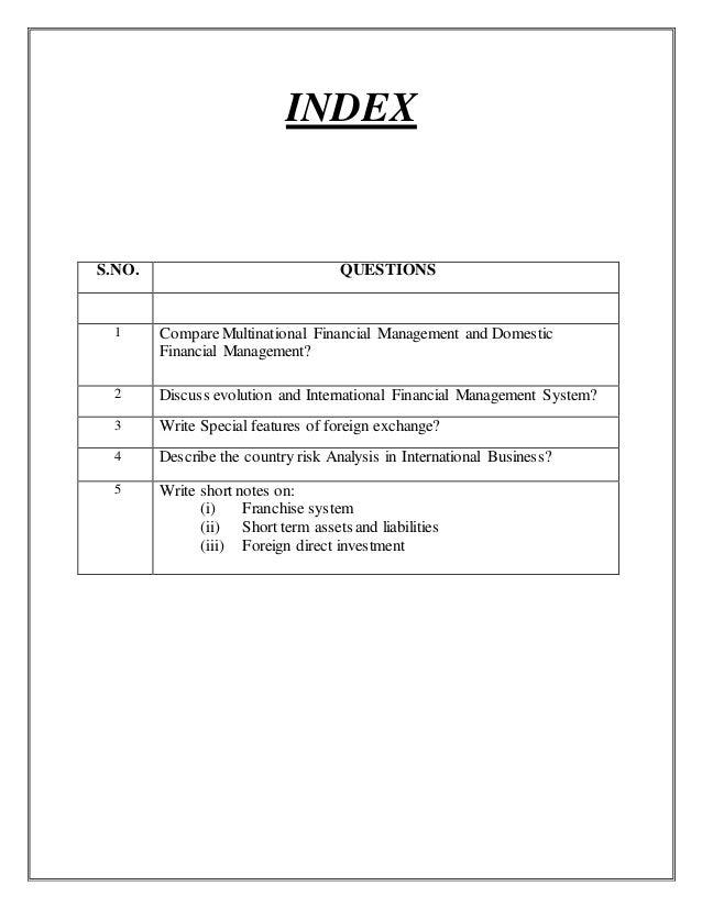 Multinational Financial Management Slide 2