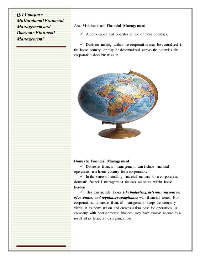 Multinational Financial Management Slide 3