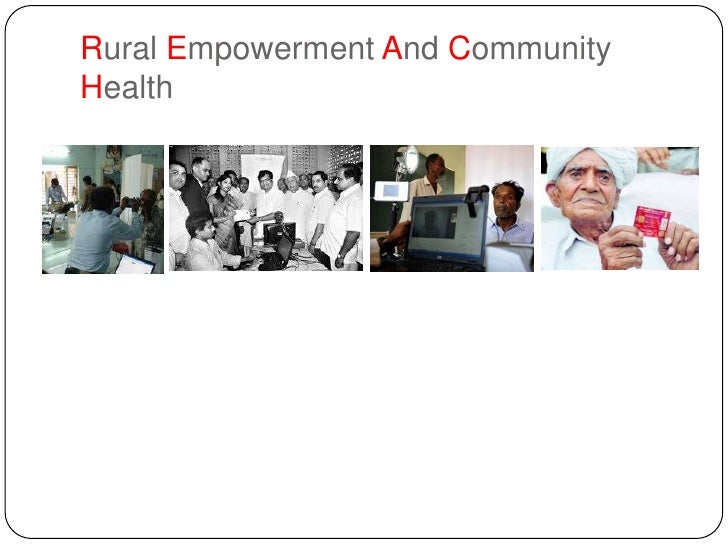 Rural Empowerment And CommunityHealth