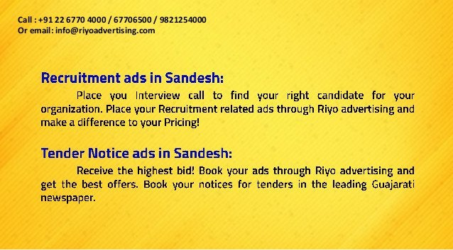 Or email us on +91 22 6770 4000 / 67706500 / 9821254000 Do contact our customer care team on info@riyoadverting.com