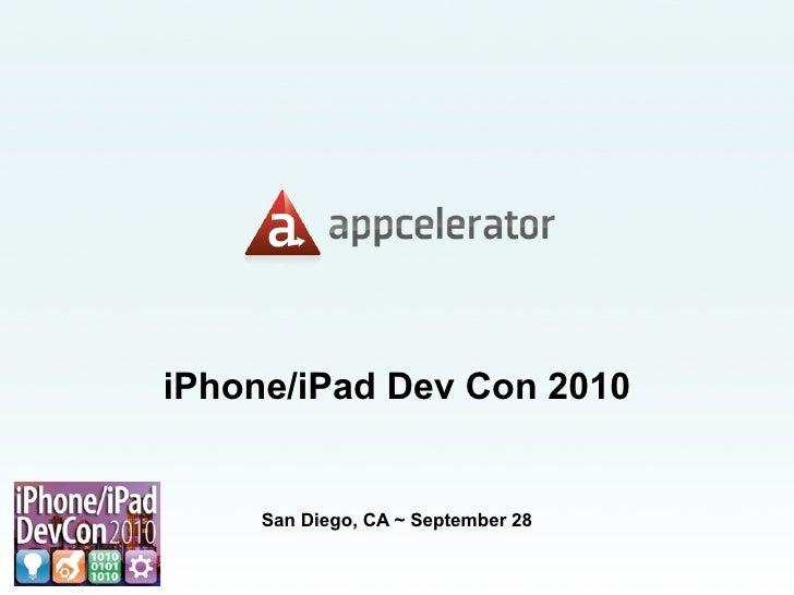 iPhone/iPad Development with Titanium