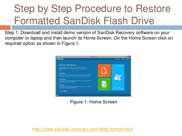 Know How to Retrieve Files from Formatted SanDisk Flash Drive