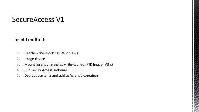 sandisk secure access version 3