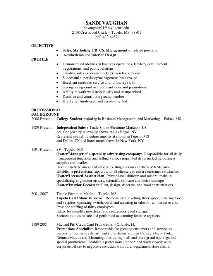Department School Service Resume