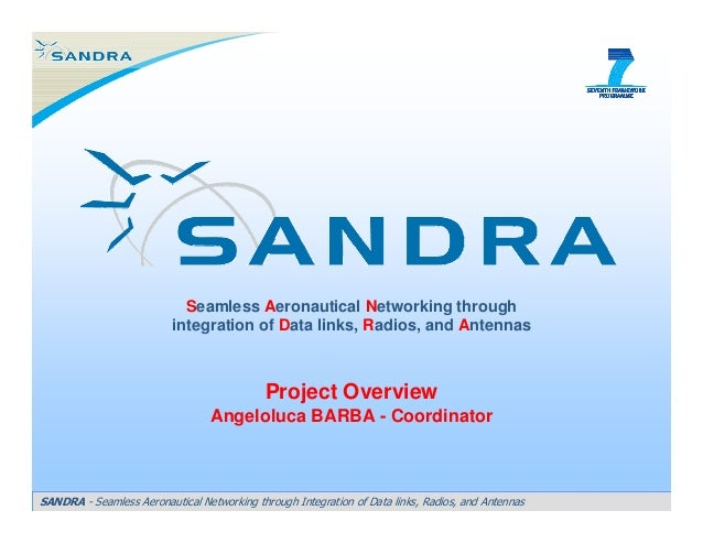 Seamless Aeronautical Networking through integration of Data links, Radios, and Antennas  Project Overview Angeloluca BARB...
