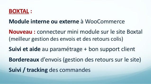 WING : sur Paris, 92, 93, 94 et bientôt Marseille Intégration dans WooCommerce par un intégrateur Collecte et emballe vos ...