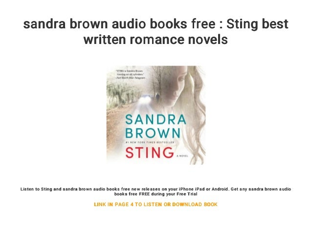 sandra brown audio books free download