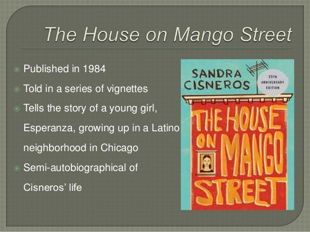 a glimpse at the life of sandra cisneros and her writing the house on mango street My name is one of the most prominent excerpts from cisneros' work the house on mango street as it a glimpse into the life cisneros, sandra my name the.
