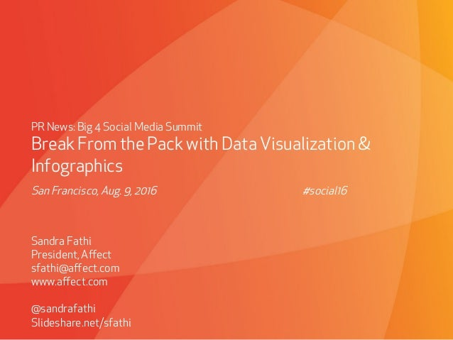 Break From the Pack with Data Visualization & Infographics Slide 2