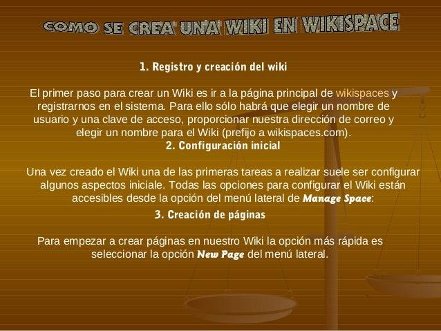 Creación de una identidad en PBwiki El primer paso que debes dar para crear wikis en PBwiki es crear una identidad mediant...